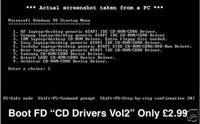 ebay shop PC floppy CD rom Driver Vol 2